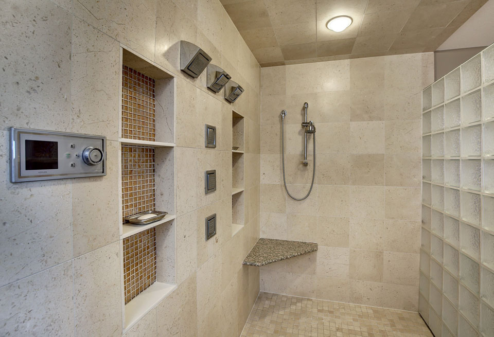 Woodbury Contemporary Master Bath