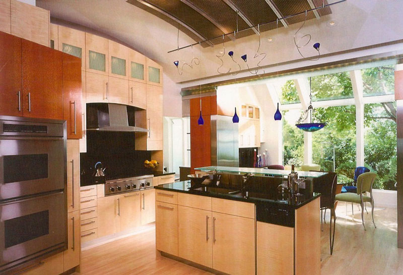 Custom Cabinets and Lighting