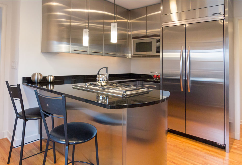 South Minneapolis Contemporary Kitchen